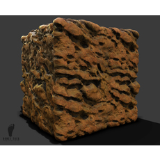 Canyon Wall 3d Game Texture