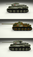 USSR Armor Pack 3D Model