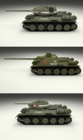 USSR Armor Pack with Interior 3D Model