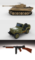 Western Front Pack 3D Model