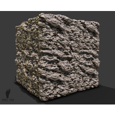 Perforated Rock Surface 3d Game Texture