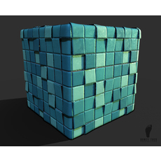 Blue Bathroom Tiles 3d Game Textures