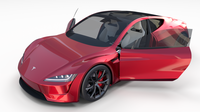 Tesla Roadster with Interior 3D Model