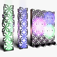 Stage Decor 04 Modular Wall Column 3D Model