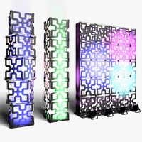 Stage Decor 05 Modular Wall Column 3D Model