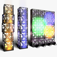 Stage Decor 06 Modular Wall Column 3D Model