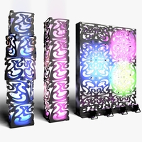 Stage Decor 09 Modular Wall Column 3D Model