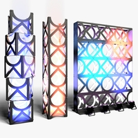 Stage Decor 11 Modular Wall Column 3D Model