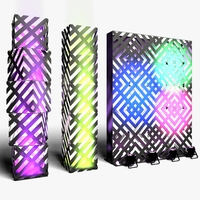 Stage Decor 13 Modular Wall Column 3D Model