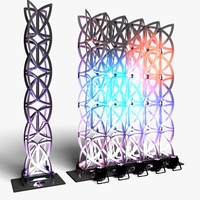 Stage Decor 22 Modular Wall Column 3D Model