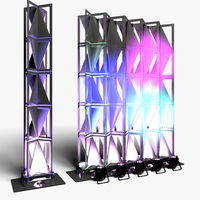 Stage Decor 25 Modular Wall Column 3D Model