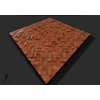 21 14 30 812 herringbone bricks tileable game material plane 3 4