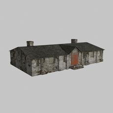 Old barrack 3D Model