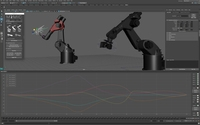 Mimic: Industrial Robot Animation and Control 1.4.1 for Maya (maya plugin)