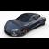 Tesla Roadster Midnight Silver 3D Model