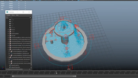 Fountain Set Rig 1.0.0 for Maya