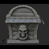 07 01 05 919 side 3d pirate treasure chest sculpting 4