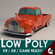 Low-Poly Cartoon Vintage Pickup 3D Model