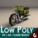 Low-Poly Cartoon Motorcycle 3D Model