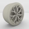 19 30 20 493 tesla wheel wire 0033 4
