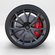 Full Tesla Roadster Wheel 3D Model