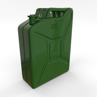 Jerry Can PBR 3D Model