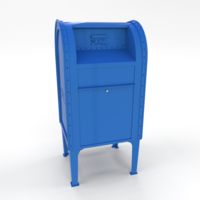 Mailbox Lowpoly PBR 3D Model