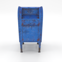 Mailbox Lowpoly Weathered PBR 3D Model