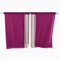Curtain Velvet 3D Model