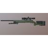 M40 A3 - Game Ready - Sniper Rifle 3D Model