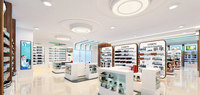 Cosmetic Pharmacy - Full Scene - 3D Model