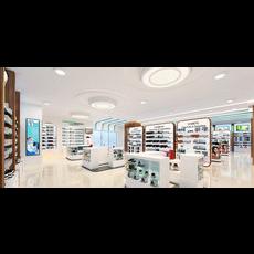 Cosmetic Pharmacy - Full Scene - 3D Model