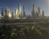 Freeway05_City 3D Model