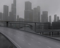 Freeway03_City 3D Model