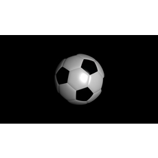 Soccer football ball 3D Model