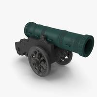 Tsar Cannon 3D Model