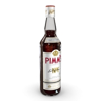 Pimm's 70cl Bottle 3D Model