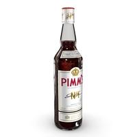 Pimm's 70cl Bottle 3D Model