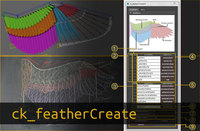 ck_featherCreate 1.1.0 for Maya (maya script)