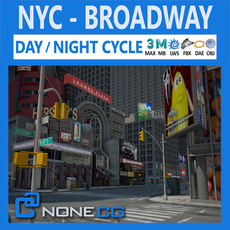 NYC Broadway 3D Model