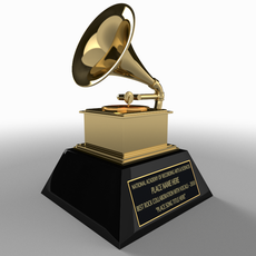 Grammy Award Model 3D Model