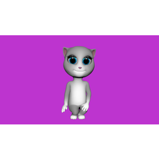 Virtual Cat – 3D Character 3D Model
