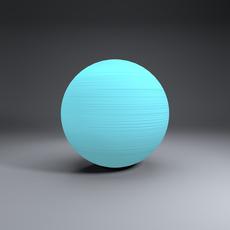 Uranus Globe 3D Model