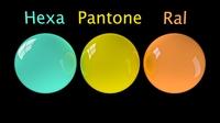 Hexadecimal/Pantone/RAL Converter 1.1.4 for Maya (maya script)