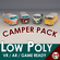 Low-Poly Cartoon Camper Van Pack 3D Model