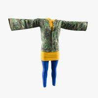 Womens Clothing 3D Model