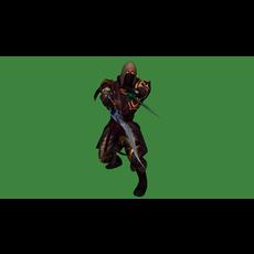 Assassin: 3D Character Battle 3D Model