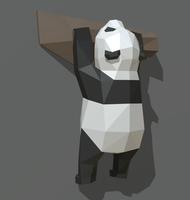 panda figure 3 3D Model
