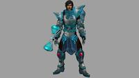 Paladin: 3D Expert Warrior 3D Model