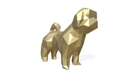 dog shih tzu figure 3D Model